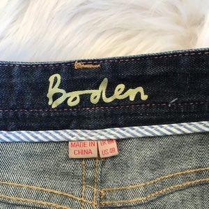 Boden Skirts - Boden Button Front Denim Pencil Skirt